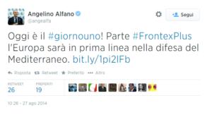 Alfano Frontex