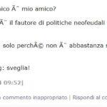 I commenti sul blog di Grillo riguardo Scacciavillani...