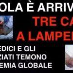 Le bufale su Ebola in Italia - 1