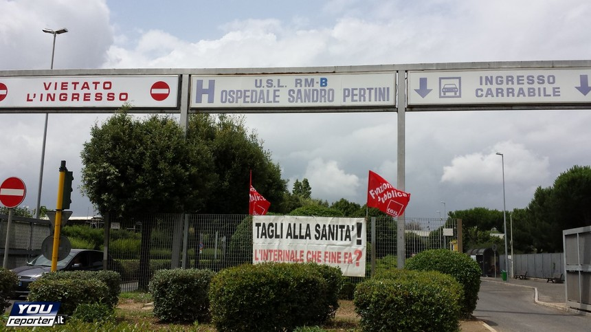L'ospedale Sandro Pertini (Youreporter)
