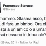 Francesco Storace  l'ha presa bene!