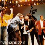 Lotito al Live Aid 1985