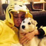Miley Cyrus e Floyd