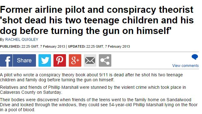autore libro 11 settembre morto