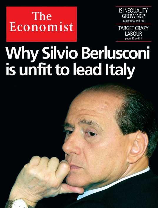 berlusconi l'espresso economist