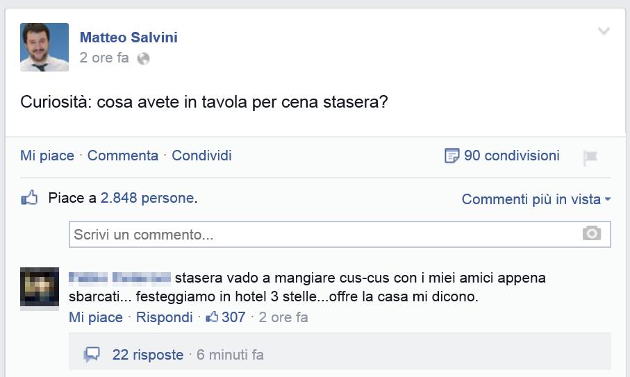 Un leader e il suo popolo - Matteo Salvini quando scende la sera