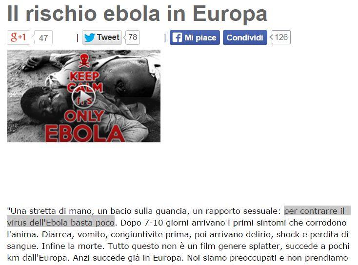 ebola beppe grillo