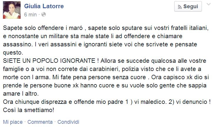 giulia latorre facebook 2