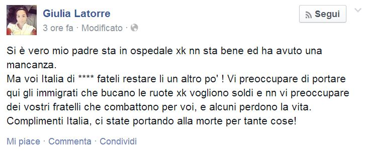 giulia latorre facebook