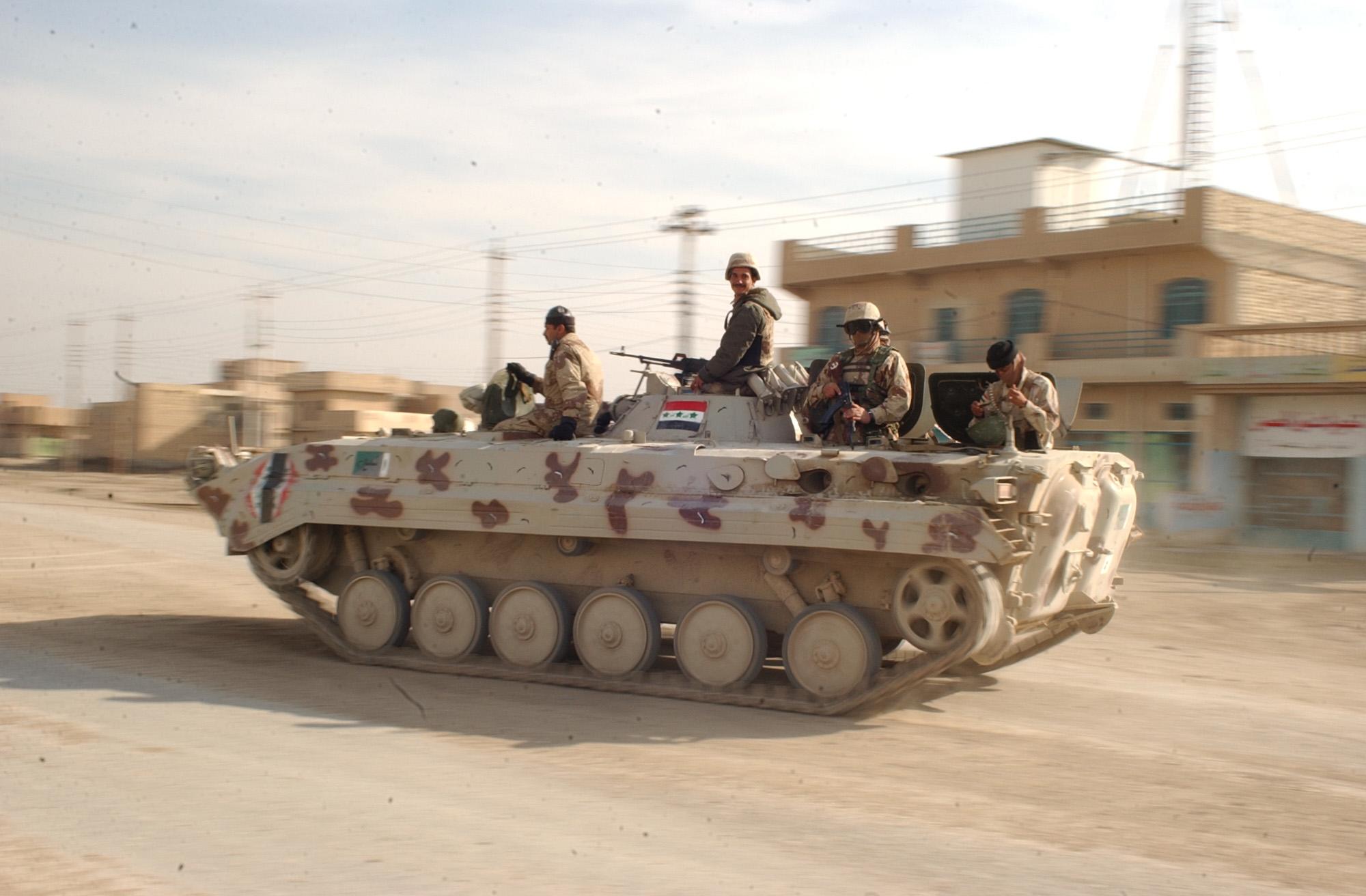 L'esercito irakeno oggi (fonte foto: Wikipedia)