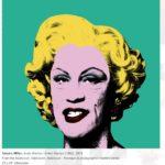 John Malkovich è Marilyn Monroe nella celebre opera di Andy Warhol (fonte: http://edelmangallery.com/)