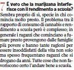 Il Corriere della Sera e la marijuana che fa male