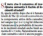 Il Corriere della Sera e la marijuana che fa male 2