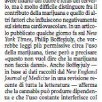 Il Corriere della Sera e la marijuana che fa male 3
