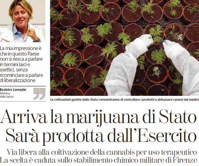 marijuana terapeutica di stato