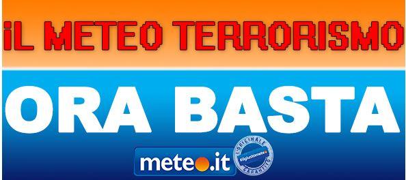 previsioni tempo meteoterrorismo