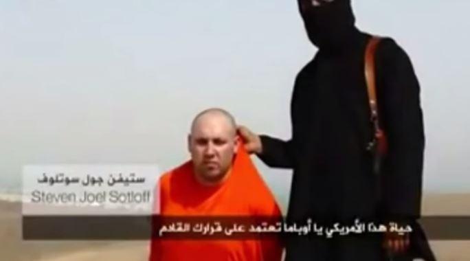 sotloff video decapitazione 2