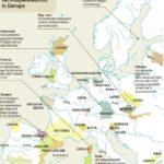 La mappa dell'indipendentismo tradotta da Repubblica