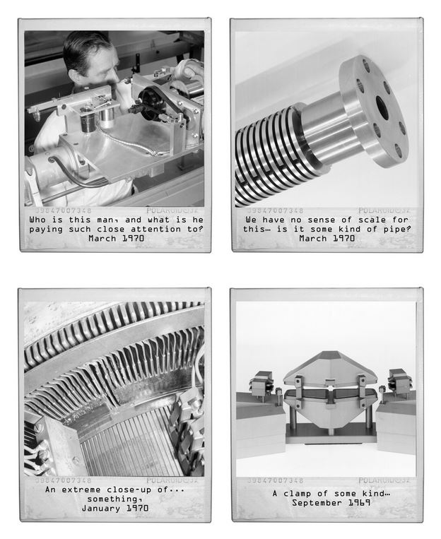 Alcune delle didascalie delle foto misteriose (fonte: http://cds.cern.ch/)