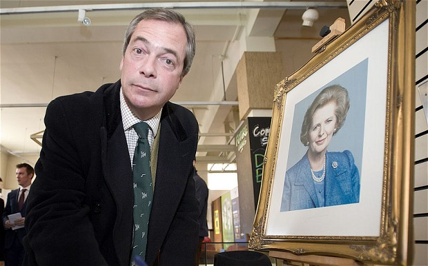 Nella foto: Nigel Farage, UKIP