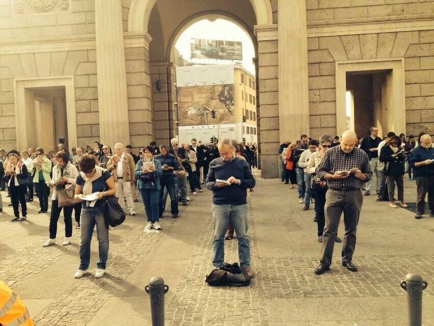 Le sentinelle a Milano