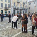 #Monza un bacio contro le #sentinelleinpiedi