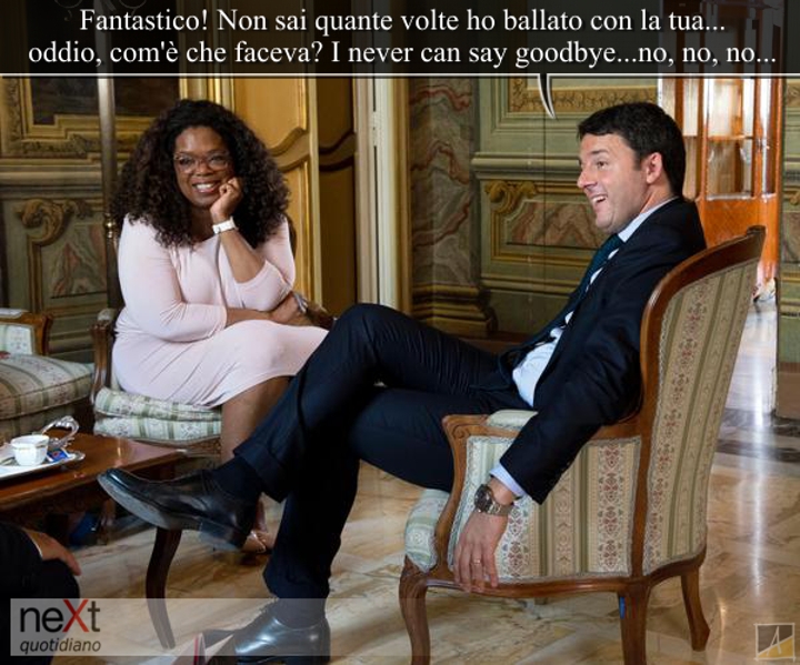 Matteo e Oprah