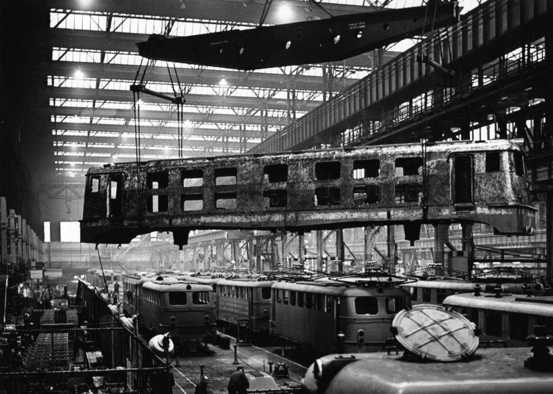 Essen, Firma Krupp, Lokomotivbau