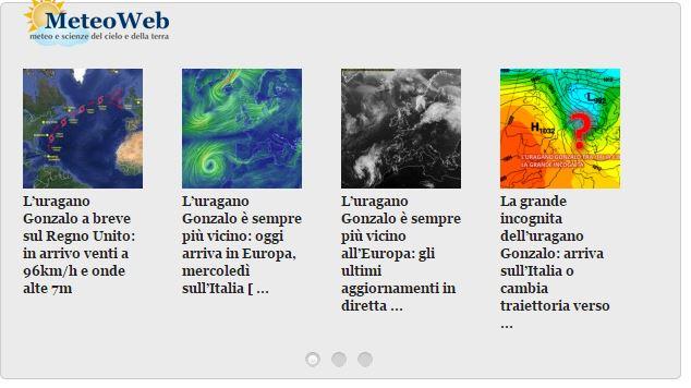 I sobri titoli di Meteoweb (fonte: Meteoweb.eu)