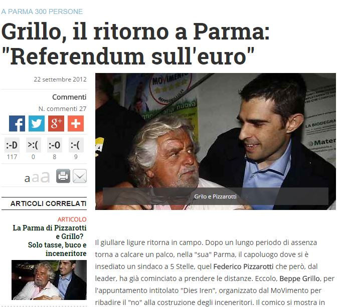 beppe grillo referendum euro 1