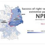 Percentuale di incremento voti per i partiti di estrema destra