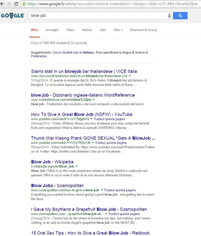Non sempre su Google si trova quello che si cerca