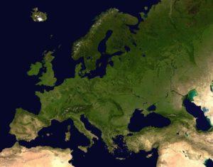 cartina europa austerity