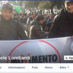 Il profilo Facebook dell'attivista Daniele Lombardi