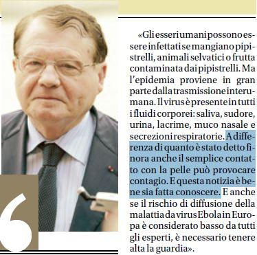 ebola italia bufala montagnier