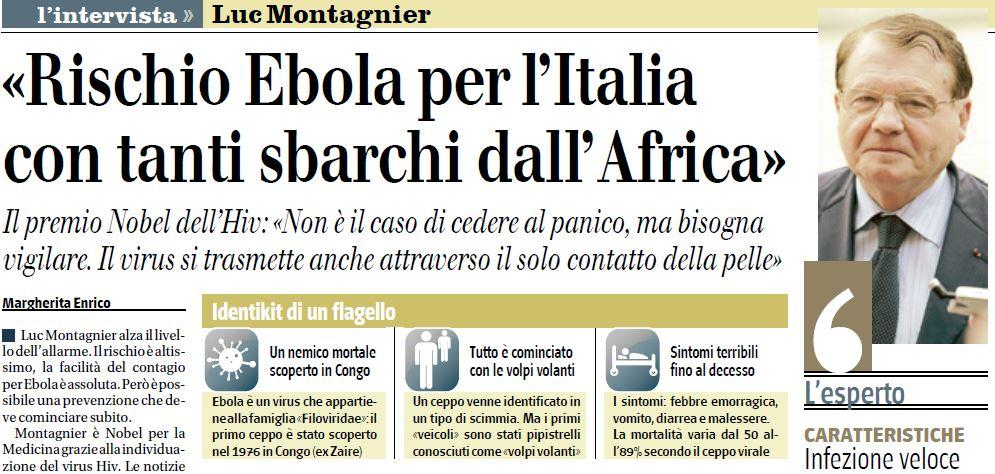 ebola italia luc montagnier