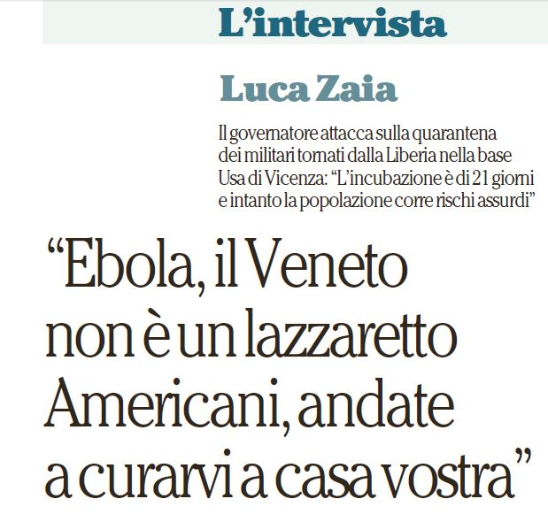 ebola zaia
