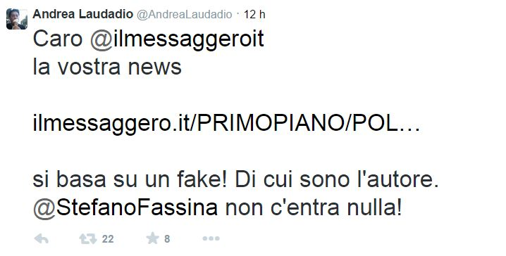 fassina guccini messaggero