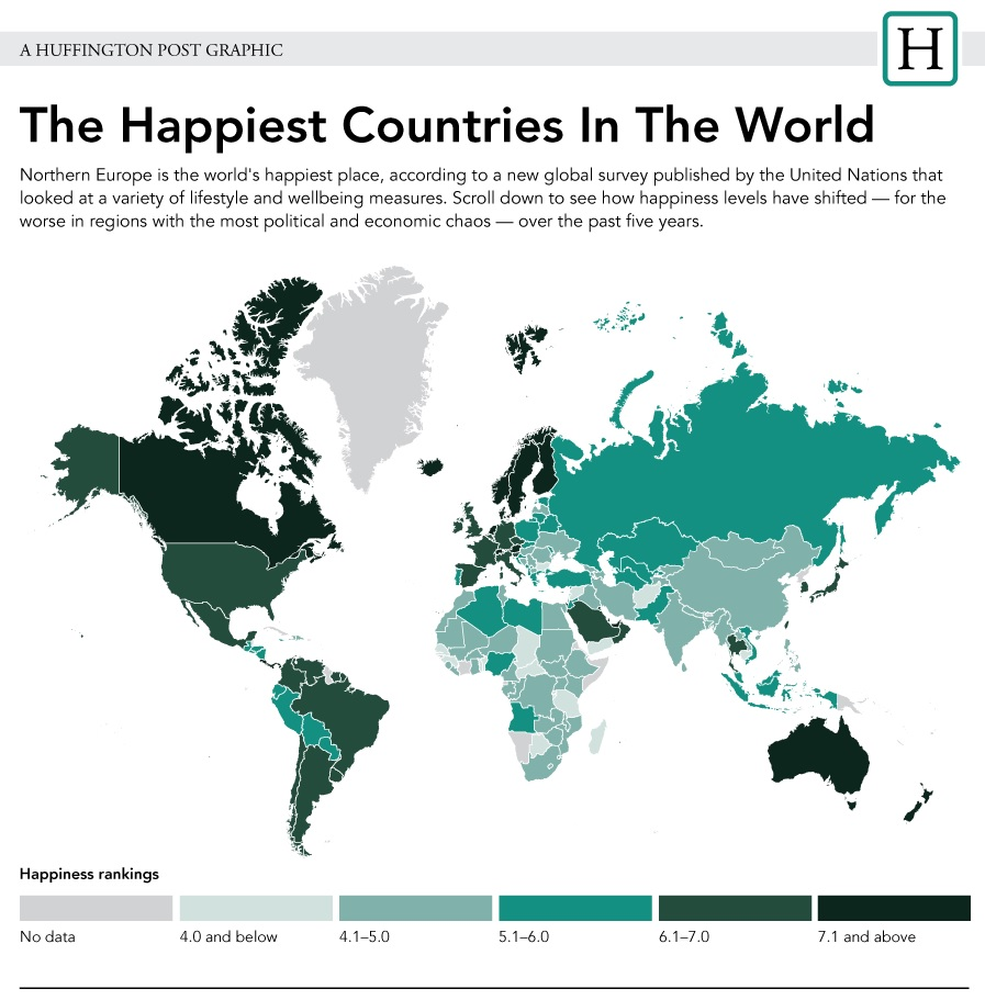 i paesi più felici del mondo 12