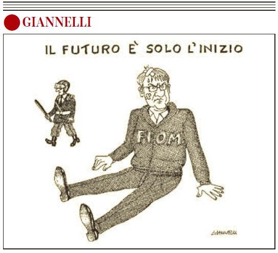 La vignetta di Giannelli sul Corriere, 30 ottobre 2014