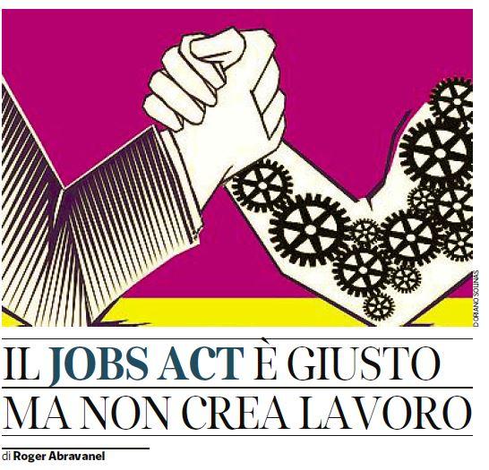jobs act posti di lavoro