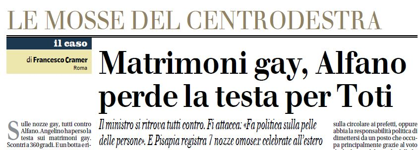 matrimoni gay alfano toti