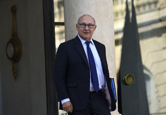 Il ministro dell'Economia francese Michel Sapin