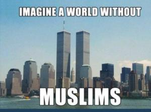 mondo senza musulmani
