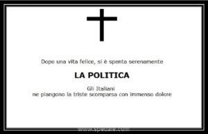 morte politica