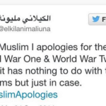 muslim apologies guerre mondiali