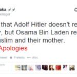 muslim apologies hitler
