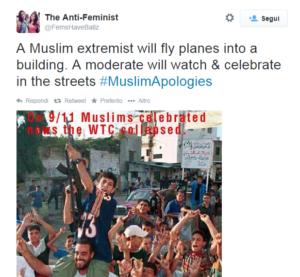 muslim apologies ironia su moderati