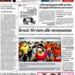 prima pagina corriere 1