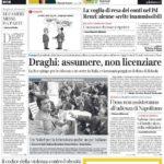 prima pagina corriere